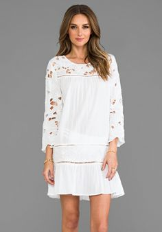 BASTA SURF Martinique Dress in White - Swimwear