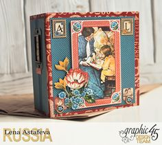 Planner - Children's Hour- Lena Astafeva-products by Graphic 45-1