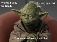 80 Most Famous Yoda Quotes from Star Wars Star Wars Film, Star Wars Jokes, Star Trek, Memes Humor, Funny Memes, Funny Cute, The Funny, Hilarious, Daily Funny