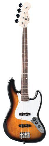 Fender 028-4810-500 Squier Bullet Jazz Bass - 3-Tone Sunburst