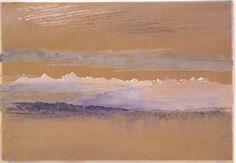 John Ruskin - Dawn 1866