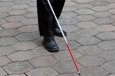 "October 15th is ""White Cane Safety Day"" which celebrates blind and visually impaired people's achievements in the United States every year. It also reminds people about how the white cane is an important tool in helping the blind and the visually impaired live with greater independence."