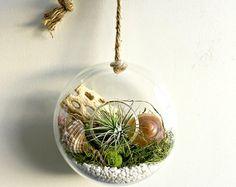 Home sweet home  rectangle Glass block vase by omorfigiadesigns