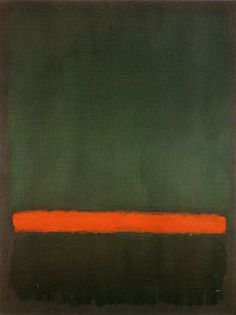 Mark Rothko, No 15 (Two greens and a red stripe), 1964