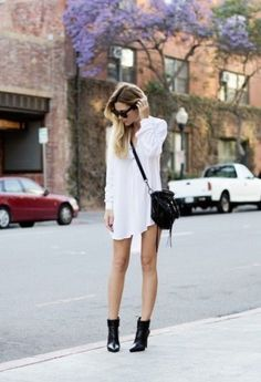How To Style A White Dress    theglitterguide.com