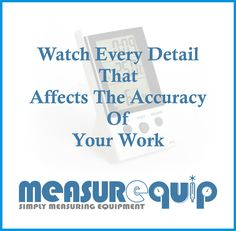 """""""Watch Every Detail That Affect Accuracy of Your Work"""" - #ElitechBT3 #DigitalThermometerHygroMeter #Measurequip"""