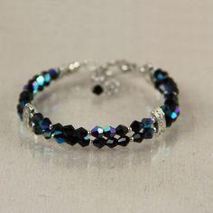 Bracelet bead beaded czech glass