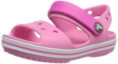 crocs Crocband II.5 Clog Kids, Unisex - Kinder Clogs, Pink (Neon Magenta/Bluebell), 24/26 EU