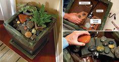 #DIY Cómo hacer una relajante fuente para interiores