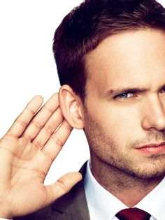 I hear you are waiting for the start of the new season? - Patrick J. Adams