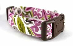 Bow Wow Couture Dog Collar in Bella available at www.ZoePetSupply.com