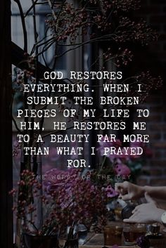 Zechariah 9:12 Even today I declare that I will restore double to you. If He declared it, He will do it! Don't give up! Don't worry or get angry. Worship God and see that trouble as an opportunity for God to bless you with more than what you...