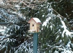 Birdhouse Post Design Ideas Once you have a birdhouse or two or three, how do you best to hang them in your garden? Both the bird's needs and how they will