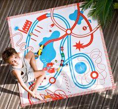 Deuz Tapikids Organic Playmat – Roads