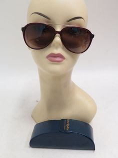 368d8312cb Sama Eyewear Combustion 3 Aviator Sunglasses Matte Wine Gold New without  Tags  Sama