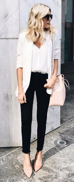 c9109f24314 Nadire Atas on Chic All White Fashion 25 Fantastic Black White Outfits To  Try Now