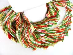Spring Summer Triangle Scarf FREE US Shipping by AllAboutTheButtons, $31.00 USD