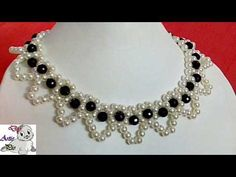 #19 How to Make Pearl Beaded Necklace || Diy || Jewellery Making - YouTube