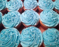 Baby shower cupcakes it's a boy! 4.25.15
