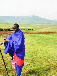 my trip to Tanzania - the Masaai tribe at Ngorongoro Crater