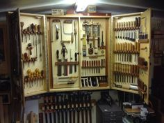 Wall Tool Cabinet