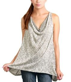 Cowl Neck Tank 3672    Fashion cover up between dance classes!  Only $4.80 at www.chicagodancesupply.com