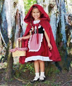Little Red Riding Hood girls costume #Halloween #pinsavvy