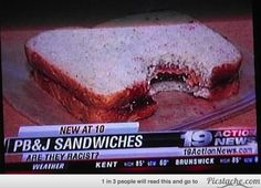 this, and other funny captions that appeared on local news. Hilarious! Actually Laughed out Loud!
