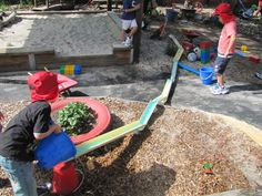 Irresistible Ideas for play based learning » Blog Archive » guttering, tubes, pipes and water