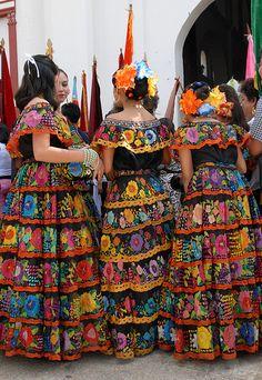 Festival in Chiapa de Corzo, Chiapas, Mexico