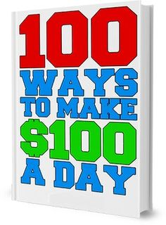 In this e-book we are sharing 100 different ways in which you can create more income online.