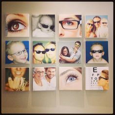 Optometry practice decor - Wouter Burger optometrist
