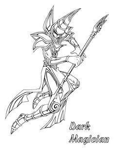 Coloring Page - Yu gi oh coloring pages 56