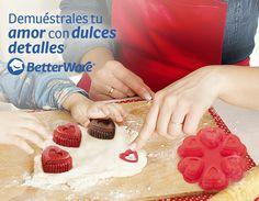 Muffins amor. Código: 16504 www.betterware.com.mx