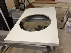 Concrete bathroom countertop FAIL | Life beyond silicon