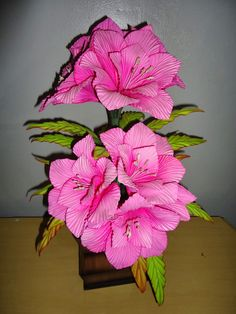 Açucena Foam Crafts, Flower Crafts, Pin Cushions, Paper Flowers, Maya, Wreaths, Pink, Arts And Crafts, Doll Crafts