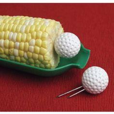 Amazon.com: Corn Holders (set of 8) - Golf balls