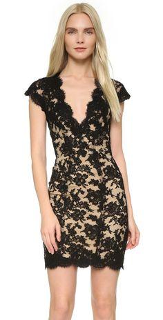 Reem Acra Lace Cocktail Dress | SHOPBOP