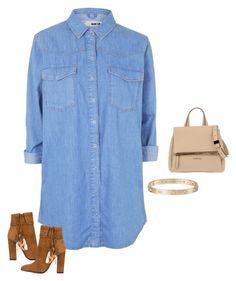 """""""Untitled #1252"""" by quaybrooks ❤ liked on Polyvore featuring Topshop, Aquazzura, Givenchy and Cartier"""