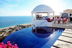 Los Cabos, Mexico Destination Wedding: Classic Elegance at private #luxury vacation rental Villa Clara Vista in the Pedregal neighborhood of Cabo San Lucas #loscabos #cabosanlucas #destinationwedding #travel #Mexico