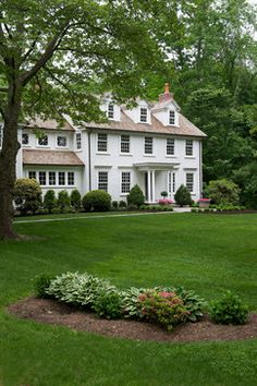 Colonial Whole Home Update traditional-exterior