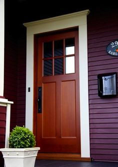 Pre-hung entry door built by Prestige Joinery in Victoria, BC. Entry and doorbell hardware by Sun Valley Bronze, Ridge Collection, with dark brown patina (S3) finish.    Door is solid fir finished with Cetol 085.