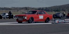 An early Toyota Celica with a turbocharged V8 and the all-wheel drive system of a Nissan GT-R? Sign us up!