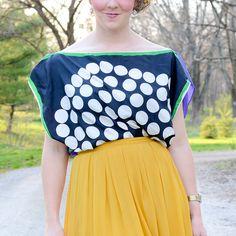 How to Make a Scarf Shirt by Stacie Stacie Stacie, via Flickr