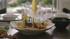 Flatbread for slow cooker meal accompanynent - fast and easy.These flatbreads are so quick to make and once you get the hang of it, the result is second to none. Kiwi, Slow Cooker Recipes, Bread Recipes, Meals, Baking, Ethnic Recipes, Pretty, Food, Bakken
