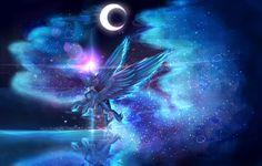 Princess Luna MLP by AquaGalaxy.deviantart.com on @deviantART