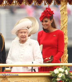 Diamond Jubilee- Kate and the Queen