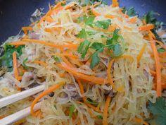 Vietnamese Soul Food: Stir-Fried Spaghetti Squash Vietnamese Style- Bi Soi xao