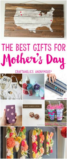 Craftaholics Anonymous® | All in one place! Find the art idea that fits your mom, and follow the tutorial to give the best gift this year!