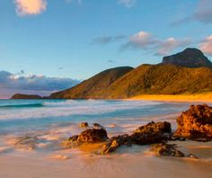 Lord Howe Island, Australia    A close-kept secret among Sydney cognoscenti, this tiny Pacific Ocean island—where tourists are capped at 400, streetlights are a rarity, and most people get around on bicycles—is an easy two-hour flight from the city
